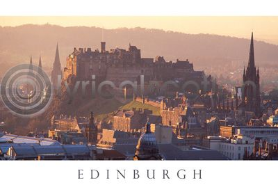 Edinburgh Castle Warm Glow (HA6)