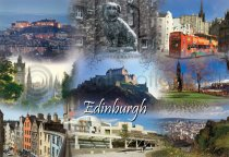 Edinburgh Fusion Postcard (H A6 LY)