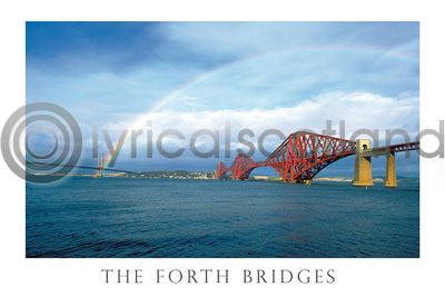 Forth Bridges & Rainbow (HA6)