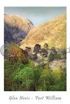 Glen Nevis - Fort William Postcard (V A6 LY)