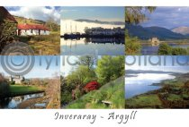 Inveraray, Argyll Composite Postcard (H A6 LY)