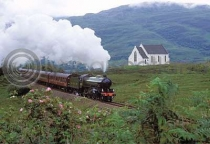 Jacobite Train, Polnish Church (HA6)