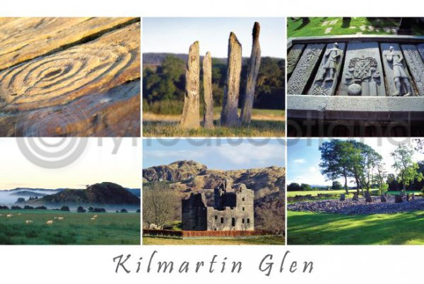 Kilmartin Glen Postcard (HA6)