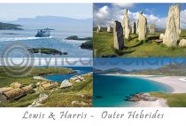 Lewis - Lewis & Harris - Outer Hebrides Postcard (H A6 LY)