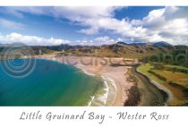 Little Gruinard Bay, Wester Ross Postcard (H A6 LY)