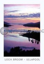 Loch Broom Sunset - Ullapool (VA6)
