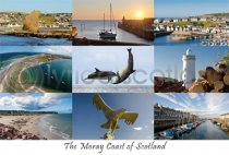 Moray Coast Composite Postcard (HA6)