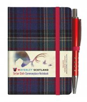 Tartan Cloth Notebook Mini: Hunting (Jun)