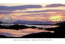 Sunset Over Eigg, Road to the Isles (HA6)
