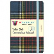 Tartan Cloth Notebook: Anderson