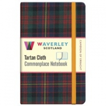 Tartan Cloth Notebook: Cameron of Erracht