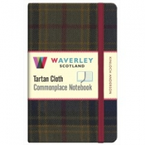 Tartan Cloth Notebook: Kinloch Anderson
