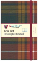 Tartan Cloth Notebook Large: Buchanan Reprod.