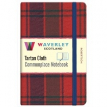 Tartan Cloth Notebook: Robertson