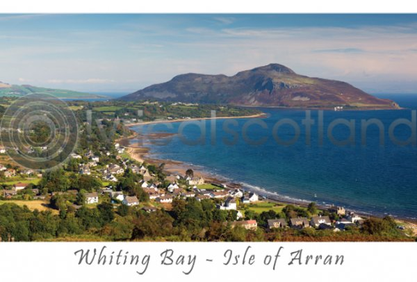 Whiting Bay Postcard (H A6 LY)